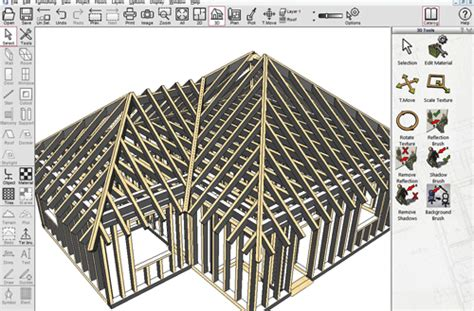 Cad drawing software to plan and visualise residential