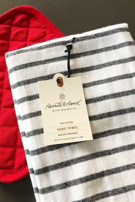 farmhouse style hanging kitchen towel tutorial  polka