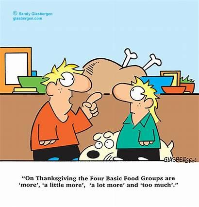 Thanksgiving Cartoons Cartoon Glasbergen Turkey Randy Children