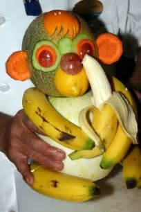 Baby Shower Platter Ideas by Monkey Fruit Sculpture Fruit Pinterest Awesome