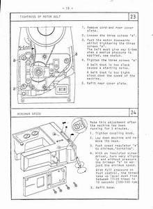 Elna Stella 37 U201357 Sewing Machine Service Manual Elnita 17