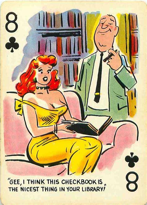 cartoon women playing cards bing images card art