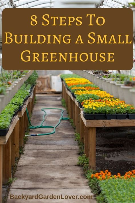 build  small greenhouse   easy steps small