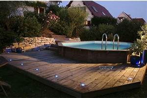 Petite Piscine Hors Sol Bois : installer une mini piscine ~ Premium-room.com Idées de Décoration