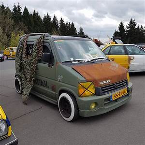 Suzuki Wagon R : loved this rat style suzuki wagon r from the ct meet ethansmale was in heaven when he saw it ~ Gottalentnigeria.com Avis de Voitures