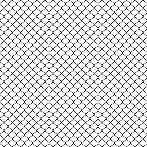 Clipart - wire-mesh fence seamless pattern