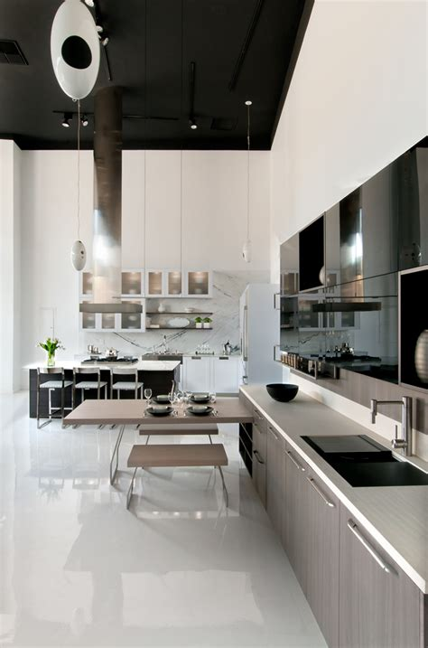kitchen showroom design modern kitchen design showrooms snaidero usa 2541