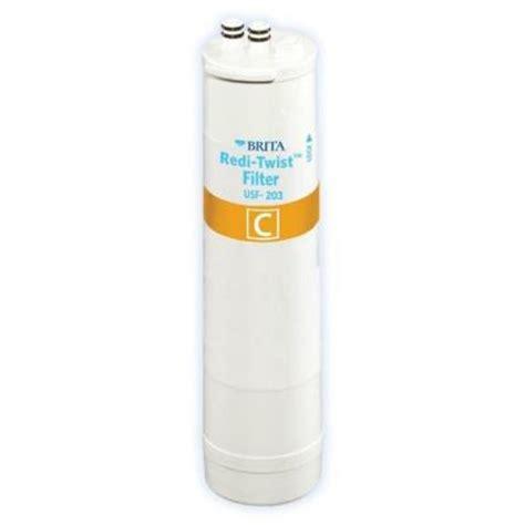 brita under sink water filter brita redi twist under sink replacement filter wfusf 203