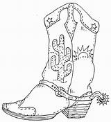 Boot Cowboy Boots Stamp Western Rubber Southwestern Southwest Coloring Unmounted Stamps Theme Pages Christmas Southwestdanceacademy Burning Wood Rover Sold sketch template