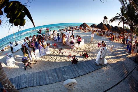 Riviera Maya Destination Wedding Iberostar Paraiso   Anitra and Amar   Del Sol Photography