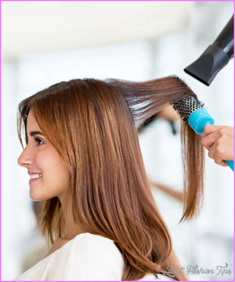 how to style your hair with dryer drying your hair latestfashiontips