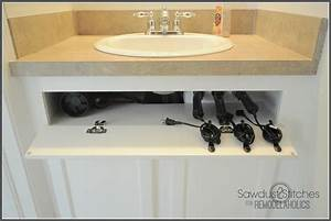inspirations blow dryer and curling iron holder curling With how to hang hair dryer in bathroom