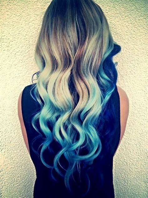 22 Best Images About Blonde Hair With Blue Tips On