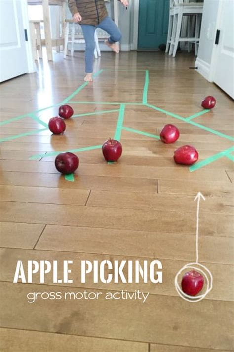 gross motor apple picking activity on as we grow 606 | apple picking gross motor activity 20160902