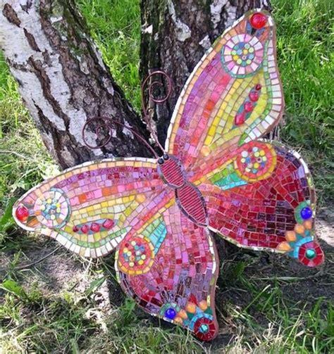 mosaic craft mosaic in the garden fresh design pedia