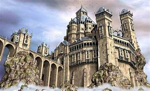 Fantasy Castle Drawing at GetDrawings com Free for