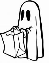 Halloween Coloring Colorings Pages Ghosts Ghost Printable Printables Cool Cute sketch template