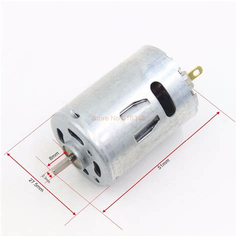 Motor Electric 380 by Rs 380ph Hobby Electric Motor 7 2v Dc Great For R C Boat