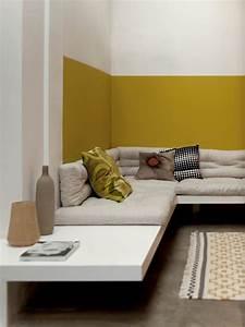 resultat de recherche d39images pour quotmur jaune moutarde With exceptional idee de couleur pour salon 4 ma decoration dinterieure les couleurs de peinture tendances