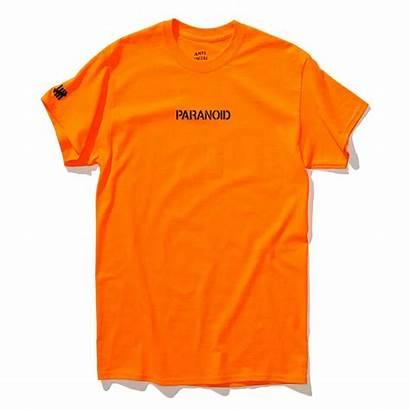 Anti Social Paranoid Undefeated Assc Orange Shirts