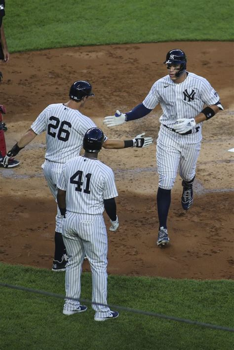 judges historic night lifts yankees  boston