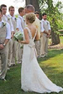 dresses to wear to a country wedding country wedding simple and chic wedding dress 805670 weddbook