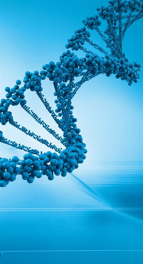 cool dna blue gene genome wallpapersc iphoneplus