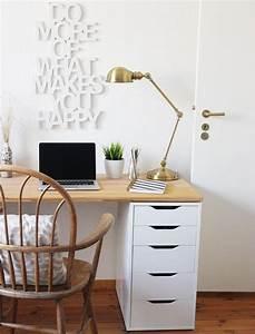 Ikea Schreibtisch Alex : schreibtisch deko ideen ~ Orissabook.com Haus und Dekorationen