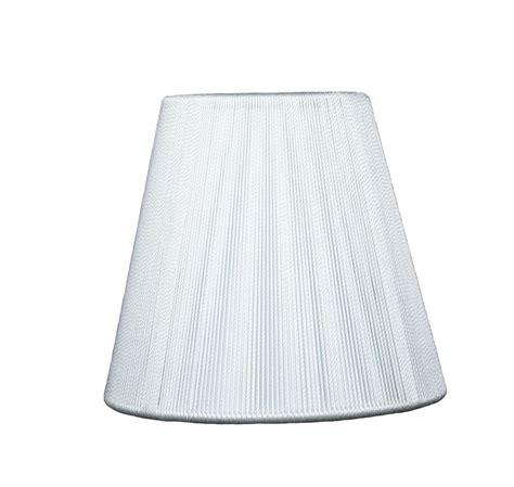 urbanest white string mini chandelier l shade 5 inch