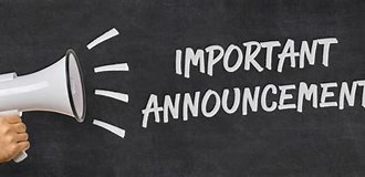 Image result for Announcement