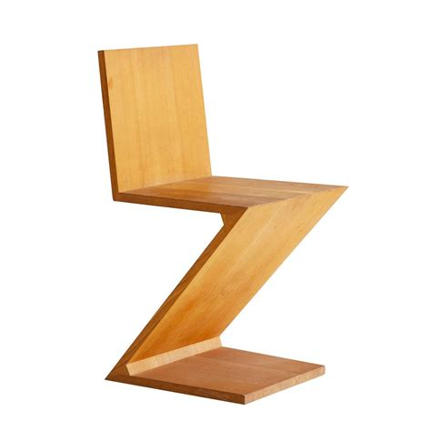 chaise zig zag gerrit rietveld zig zag chair for sale at 1stdibs