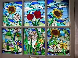 Custom Stained Glass Mosaic Windows by Tina Shoys, Mosaic