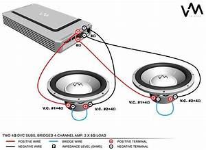 Channel Amp Wiring Diagram Need Help With Loc And Visual Aid At Rockford Fosgate Subwoofer P2 12