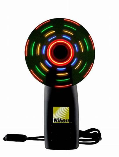 Fan Spinning Multi Lighted