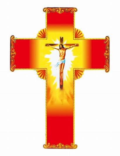 Cross Jesus Crucifix Christian Material Transparent Crosses