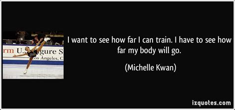 I Want To See How Far I Can Train. I Have To See How Far