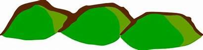 Hills Hill Clipart Clip Map Symbols Vector