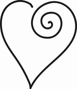 Scroll Heart Clipart - ClipArt Best