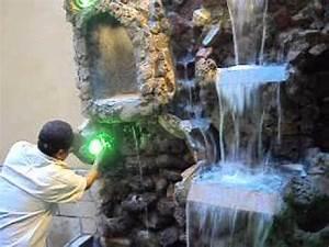 cascada hecha de piedra picapedreros arte en piedra YouTube