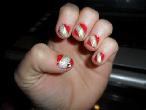 Peppermint Candy Nail Art Cfcpoland