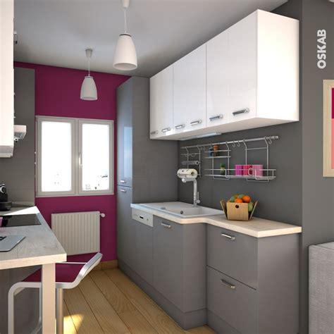 cuisine blanche mur aubergine les 25 meilleures idées de la catégorie cuisine brillante