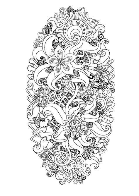 anti stress adult coloring pages inspired