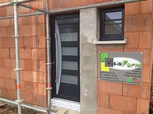 portes d39entree pvc 68 schuco haut rhin visioferm With portes entrée pvc