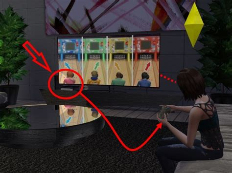 mod  sims playstation   models  hannes sims