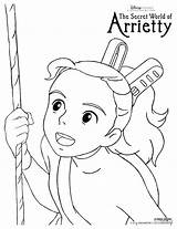 Arrietty Coloring Ghibli Studio Pages Colouring Sheets Princess Secret Mononoke Castle Moving Howl Printable Disney Arietty Activity Newlycrunchymamaof3 Colorings Theaters sketch template