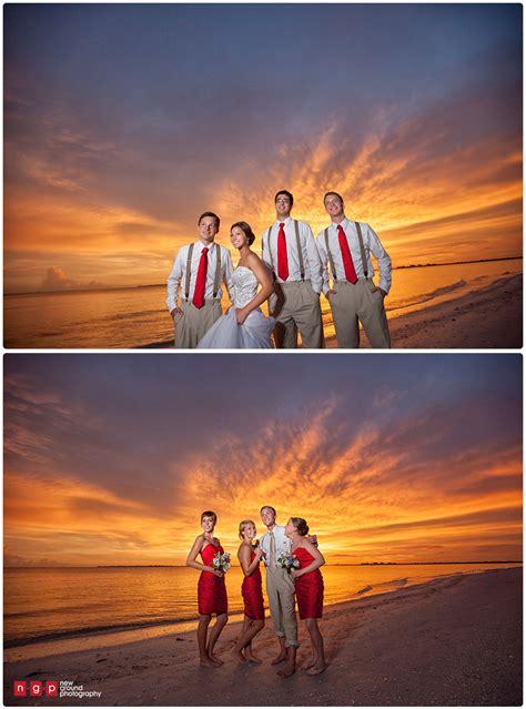 wedding beach sunset pink shell resort brianna most amazing photographers jon florida
