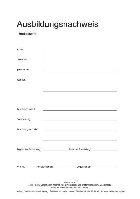Ihk K Ln Berichtsheft Deckblatt Bewerbung – Vorlagen Kostenlos