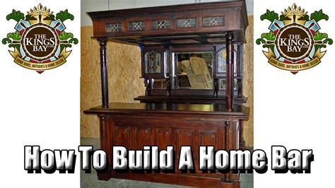 antique dublin equestrian canopy home bar furniture