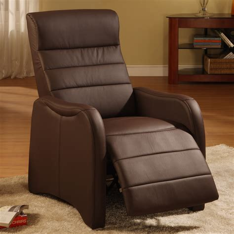 bedroom modern brown vinyl reading chair with adjustable