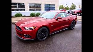 2016 Ford Mustang GT Ruby Red Metallic Tinted Clearcoat - YouTube